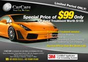 Flyer design for Car Time