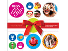 Packaging design for Bliss Gift