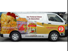 Van design for Sayeed Muhammad and Sons Traders Pte Ltd