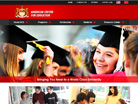Corporate website design for ace Pte Ltd