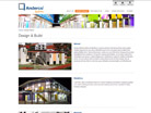 Corporate website design for Anderco Pte Ltd