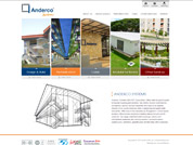 Corporate website for Anderco