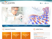 Corporate website for Ark Scientific Pte Ltd