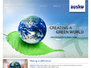 Corporate website for Ausko Pte Ltd