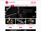 Corporate website design for Band World Singapore