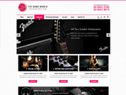 E-commerce website for Band World Singapore