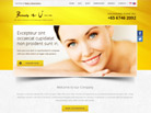 Corporate website design for Beauty & U Singapore
