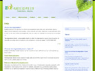 Corporate website design for Bio-Plastic (S) Pte Ltd