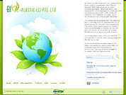 Corporate website for Bio-Plastic (S) Pte Ltd