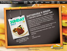 Corporate website design for Butter Cake & Cream