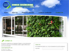 Corporate website design for Consis Pte Ltd