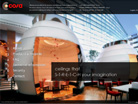 Corporate website design for Cosa International Pte Ltd