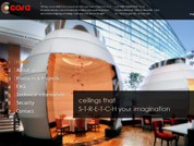 Corporate website for Cosa International Pte Ltd