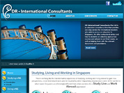 Corporate website for DR. International Consultants Pte Ltd