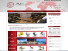 Corporate website design for Global Precious Metals Pte Ltd