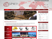 Online Shopping Website for Global Precious Metals Pte Ltd