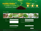 Corporate website design for Green Nature Ecological Technology (Pte) Ltd