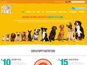 E-commerce website for H5 Paws