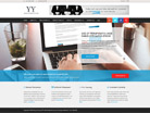 Corporate website design for Hong Ye Group