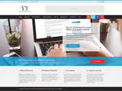 E-commerce website for Hong Ye Group