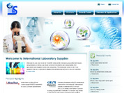 Corporate website for International Laboratory Supplies