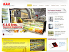 Corporate website design for K & Q Bros. Electrical Engineering Co. Pte Ltd