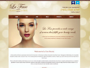 E-commerce website for La Face