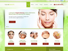 Corporate website design for N & M Beauty