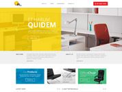 Corporate website for offitek office funiture