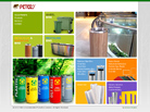 Corporate website design for Peter's Environmental Products & Services