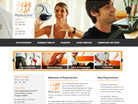 Corporate website design for physioactive Pte Ltd
