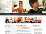 Corporate website for PhysioActive