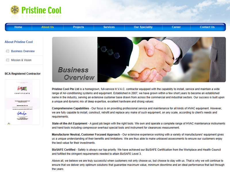 cool business website designs pristine cool corporate
