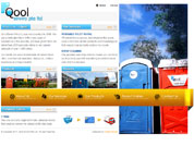 Corporate website for Qool Enviro Pte Ltd