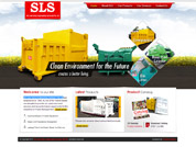 Corporate website for SLS