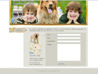 Corporate website design for Precious Pets