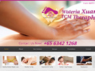 Corporate website design for Wisteria